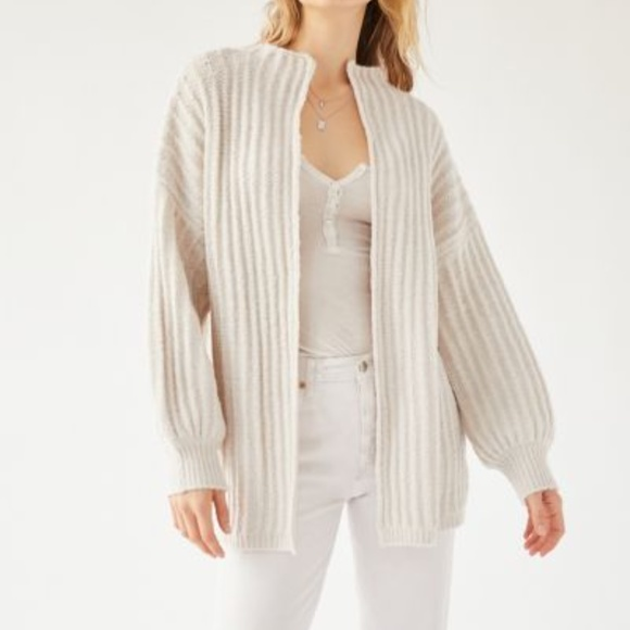 UO Truly Madly Deeply Ava Open-Front Cardigan